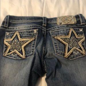 Star pocket Miss Me Jeans